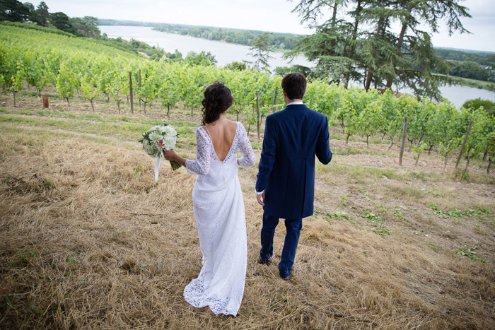 French countryside real wedding
