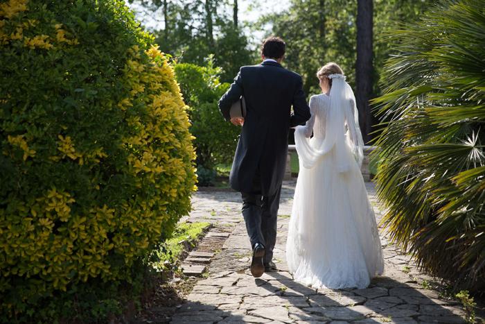 French garden wedding