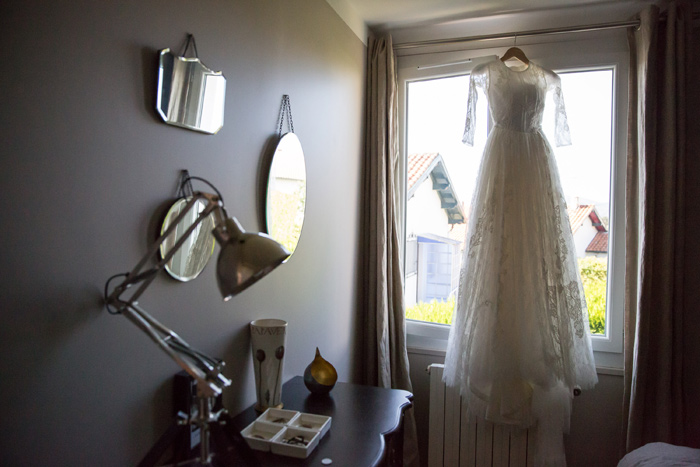 Celestina Agostino wedding dress
