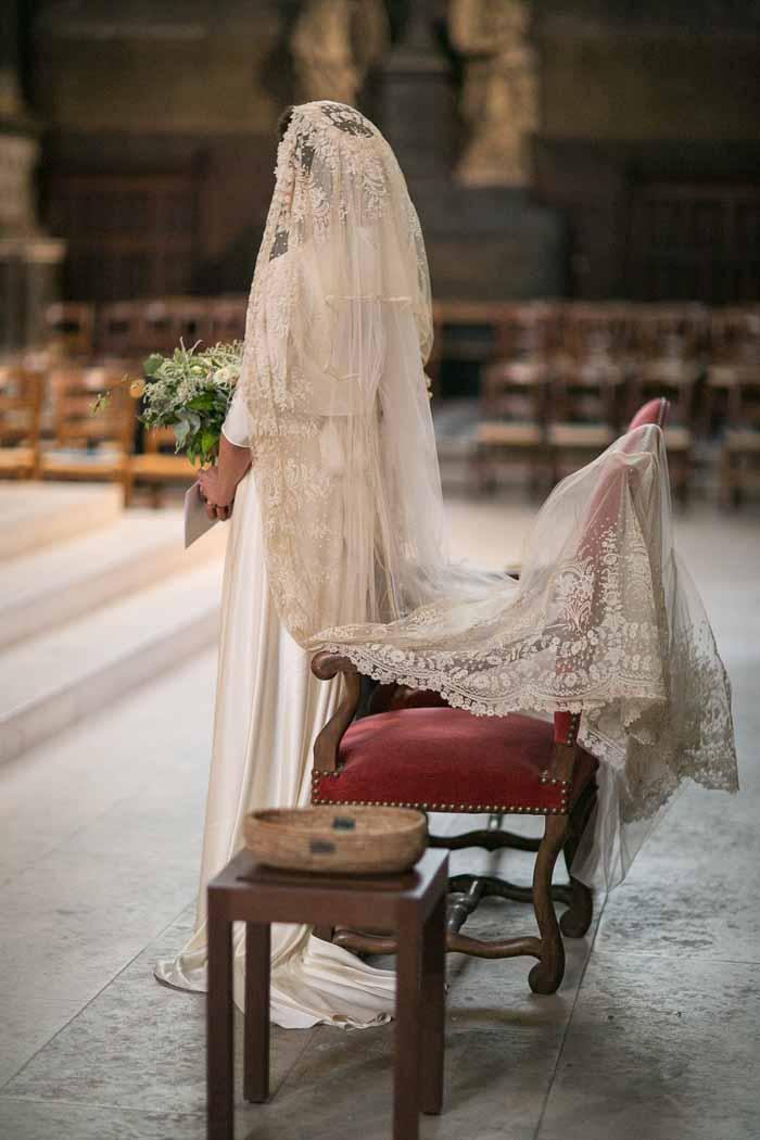 vintage wedding veil