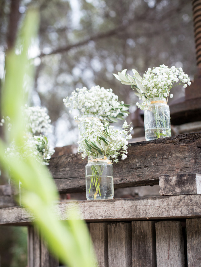 Gypsophyle wedding decor