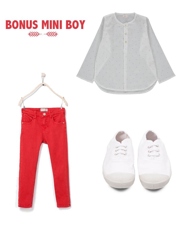 Tunique KETIKA | Pantalon ZARA | Souliers BENSIMON