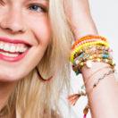 6 bracelets de l'amitié à mini-micro-prix