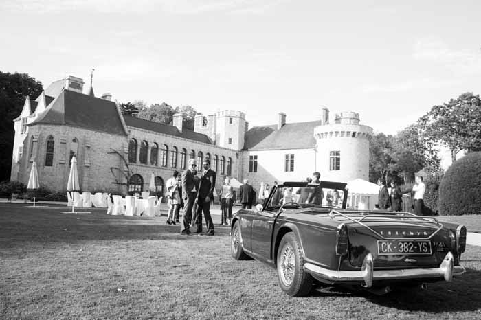 French castle for destination weddings