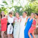 Un mariage briques et couleurs !