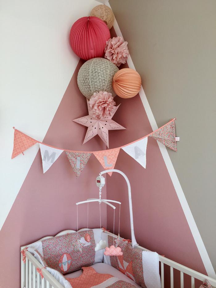 decoration pastel chambre bebe
