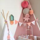 Style nordique et pastel pour la chambre de bébé