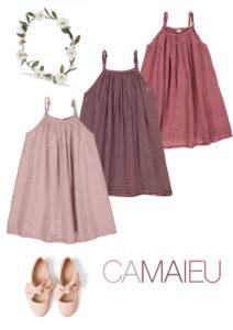 robes de demoiselles d'honneur rose pâle