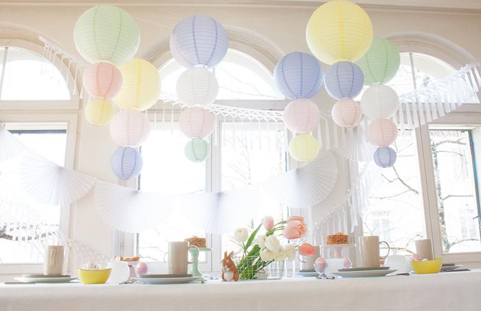Table de fêtes pour le printemps - idées de déco pour Pâques