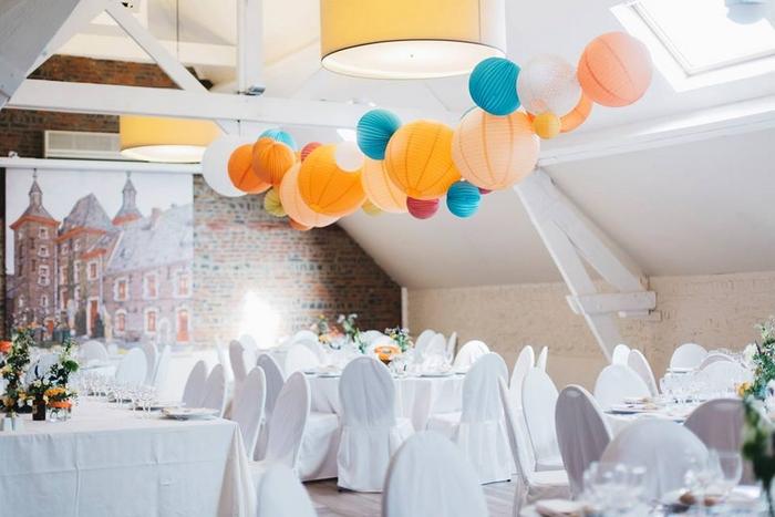 Guirlande lanterne lampion mariage