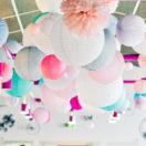 Quelle forme de boules en papier pour décorer un mariage ?