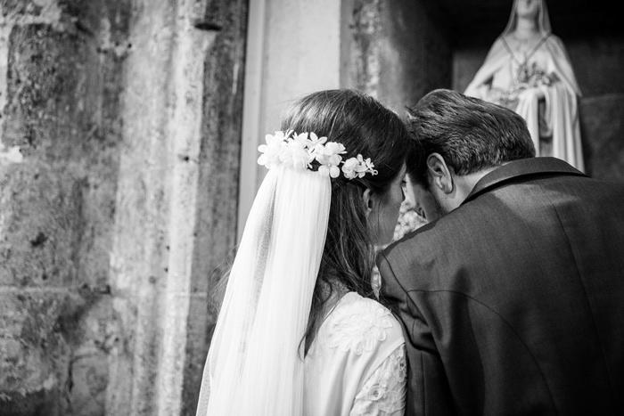 coiffure de mariée fleurs