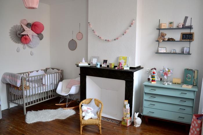 Une chambre rétro en rose et gris - Des idées pour un joli mariage ...