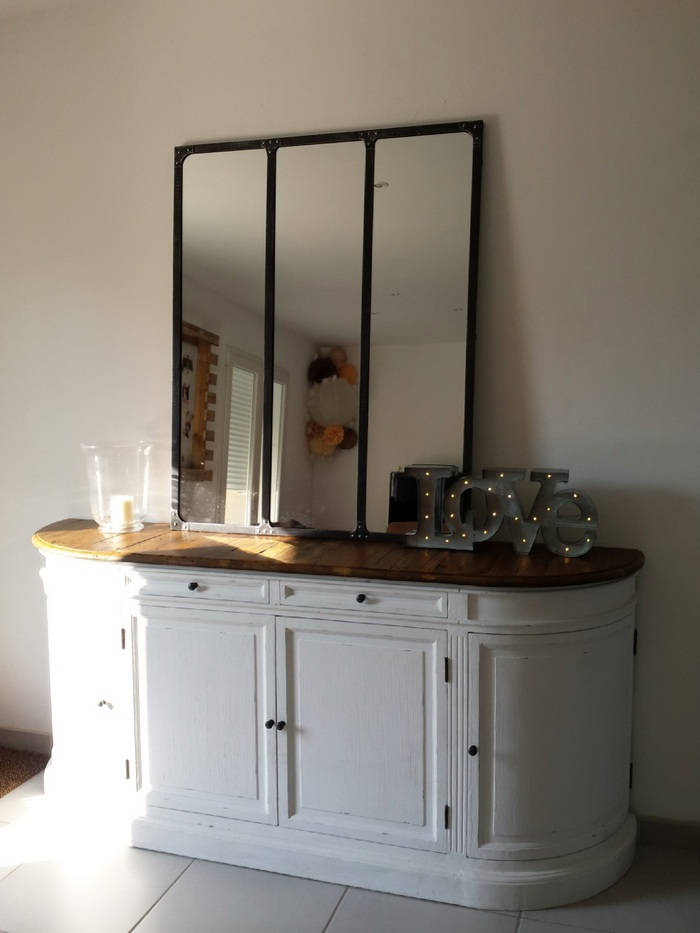 Décoration salon lanterne papier orange blanc beige marron