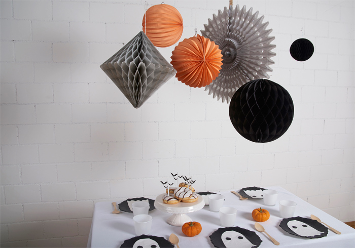 jolie décoration de table pour Halloween
