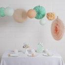 Une jolie fête aux couleurs «Mint and peach»