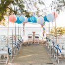 Une cérémonie de mariage sous un ciel de lanternes