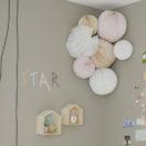 Une décoration de chambre beige et rose