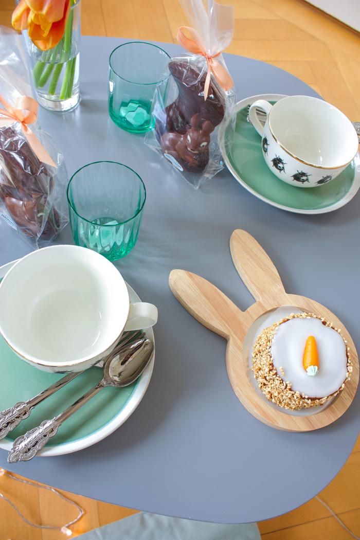 Décor de pâques, décoration table pour fêter Pâques, couleurs pastel