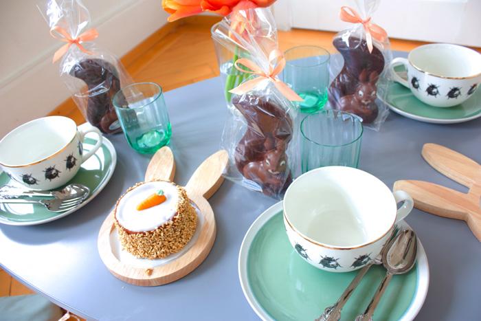 Décor de pâques, décoration petite table pour Pâques
