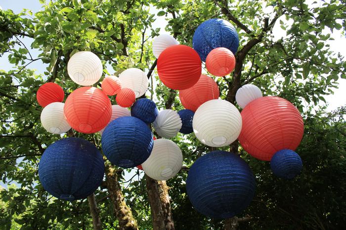 bleu blanc rouge : une déco de fête pour un 14 juillet ou une coupe du monde