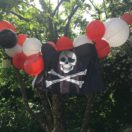 Une guirlande pour un anniversaire Pirate