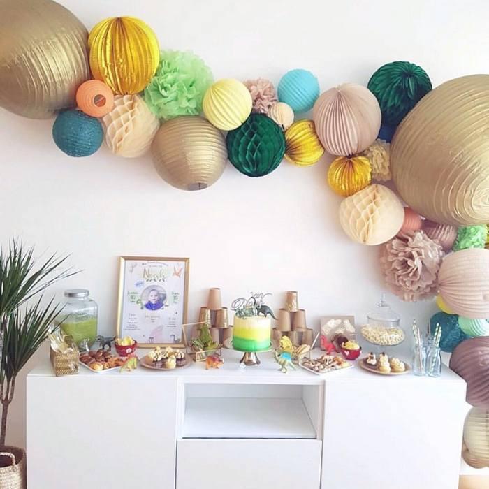 Anniversaire ou fête à la maison : des idées déco avec des lampions