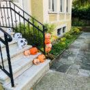 Lanternes en papier décorées pour Halloween