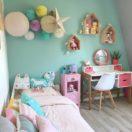 Idées de décoration pastel pour une chambre de fille