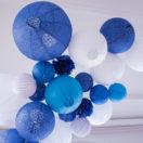Un décor bleu et blanc pour un mariage en bord de mer