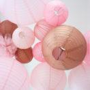 Think pink! Un ciel de fête tout en rose