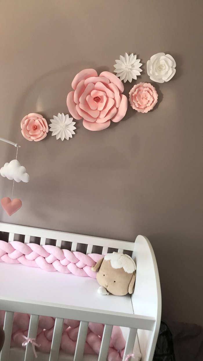 Une décoration murale rose