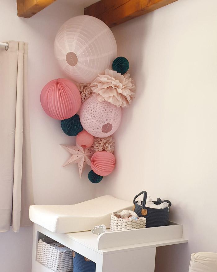 Table à langer bébé : décoration